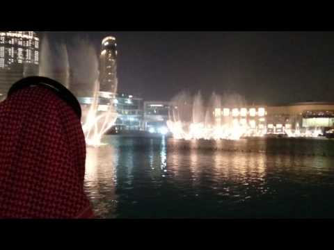 Espetáculo das Fontes no Burj Khalifa Park, Dubai