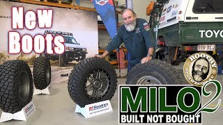 Milo 2 - New Boots, KM3s - 40 Series - Built Not Bought