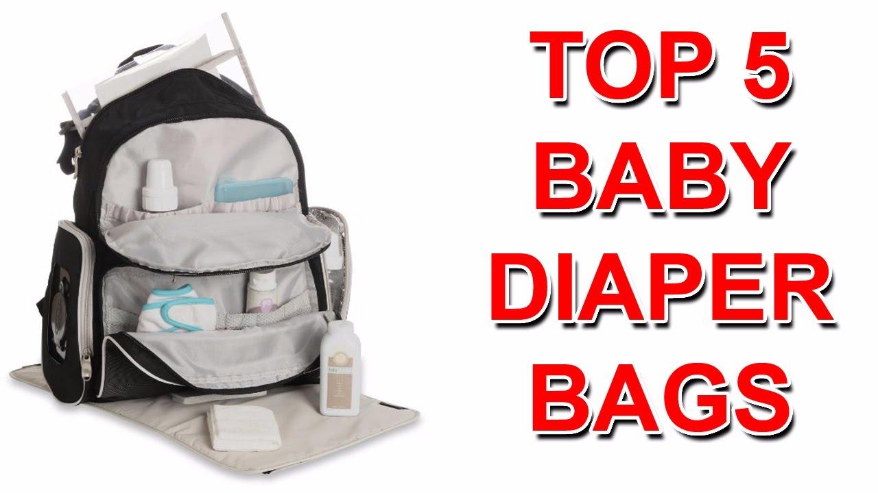 e785557997598 Best baby diaper bag backpack - YouTube