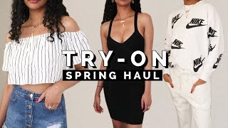 HUGE SPRING TRY ON HAUL 2018 ➟ F21, Zara, H&M, More!