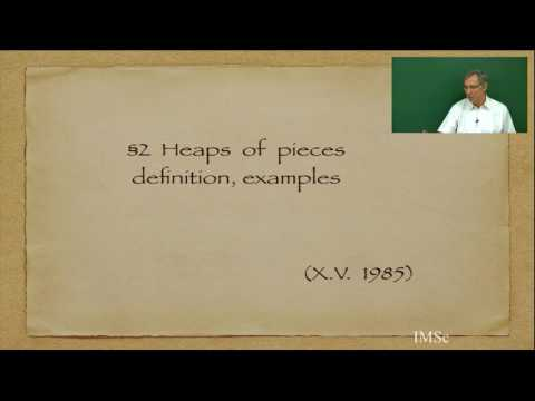 Viennot, Heaps of Pieces, Ch1a  Commutations and heaps of pieces: basic definitions