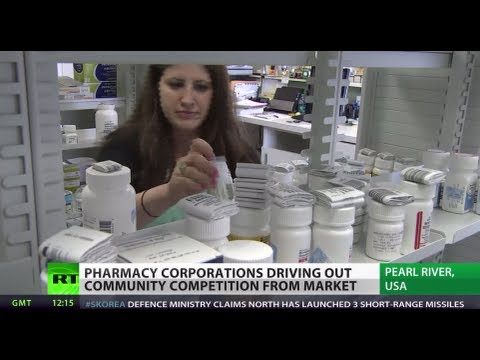 Big Pharma Conquest: US drugstore monsters drive out neighbor shops