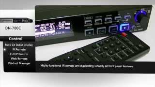 Denon Professional DN-700C   Network CD/Media Player - Overview Video
