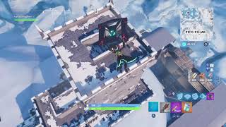 Fortnite bug of entering but down the castle and site of the nests of gangs