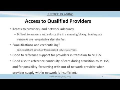 Pennsylvania's MLTSS Proposal: Key Considerations for Advocates