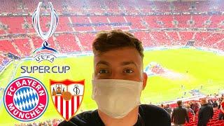 FC Bayern vs. Sevilla   VIP Stadionvlog aus 🇭🇺 - Uefa Super Cup
