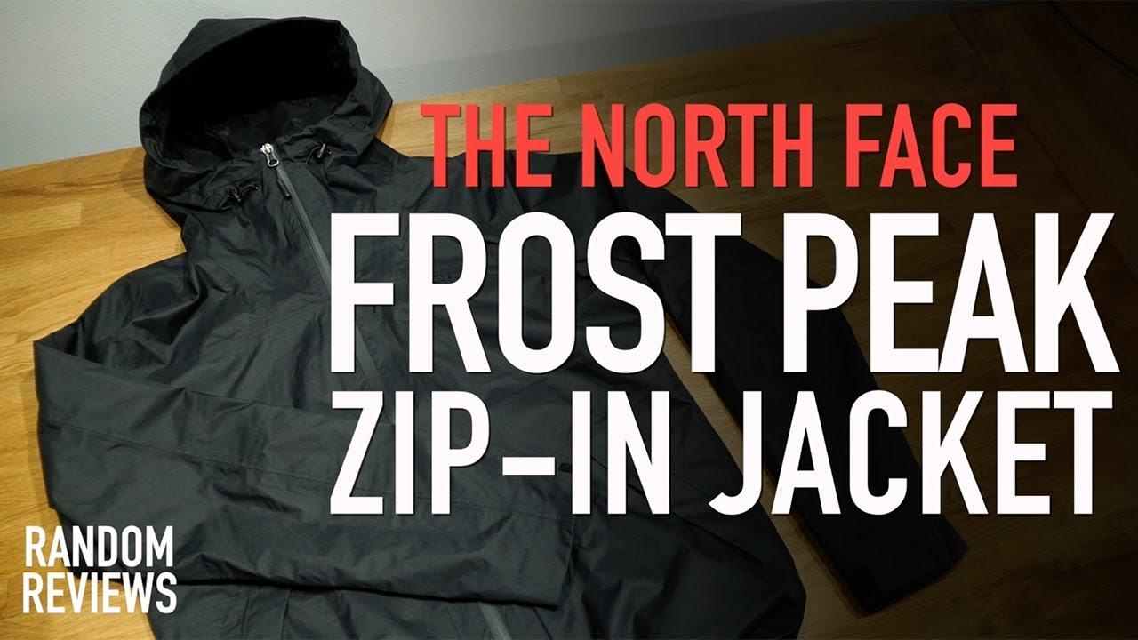 north face frost peak