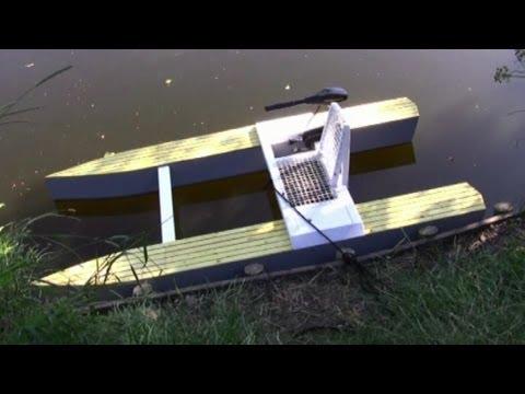 Wooden Micro catamaran - Project Plans