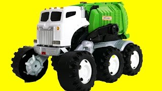 Monster Truck Garbage Truck Playset Toys for Children Candy