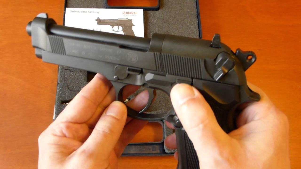 Vzduchová Pistole Umarex Beretta M 92 FS CO2 černá Recenze