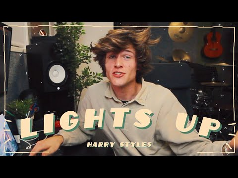 Remaking LIGHTS UP By HARRY STYLES In ONE HOUR! | ONE HOUR SONG CHALLENGE