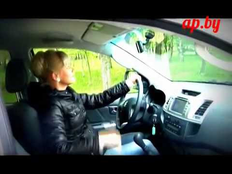 Фото к видео: Toyota HILUX 2.5 D - женский тестдрайв программы - Автопанорама