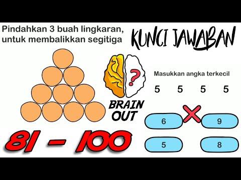 Gameplay Brain Out Indonesia Level 81 100 Walkthrough Beserta Kunci Jawaban Youtube