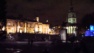 TRAFALGAR SQUARE AT NIGHT 021213