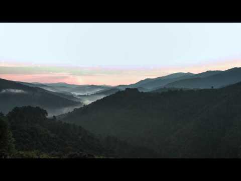Sunrise time lapse Cevennes National Park