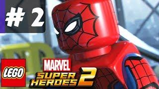 LEGO Marvel Superheroes 2 Gameplay Part 2 - Avenger's World Tour