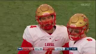 FB Highlights | Mitchell Bowl vs Laval - Nov. 18, 2017