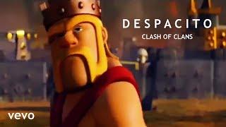 despacito clash of clan version song