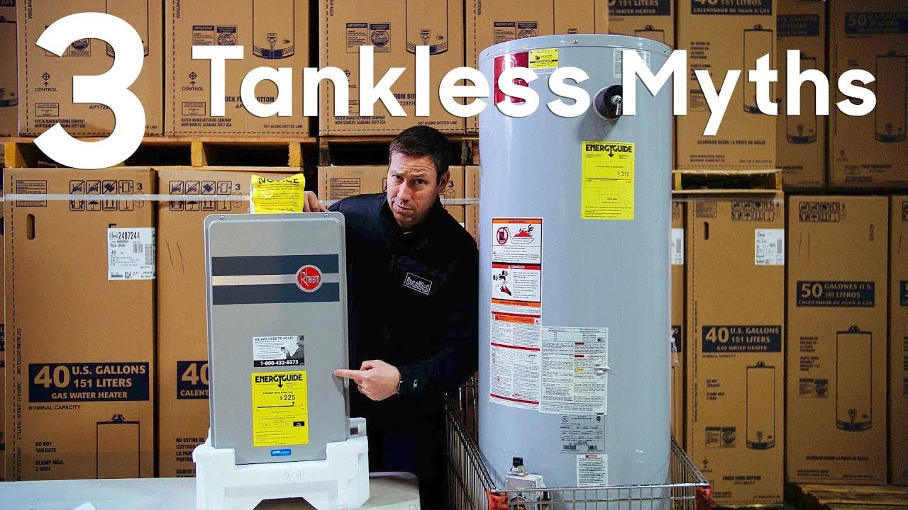 3 Tankless Water Heater Myths Youtube