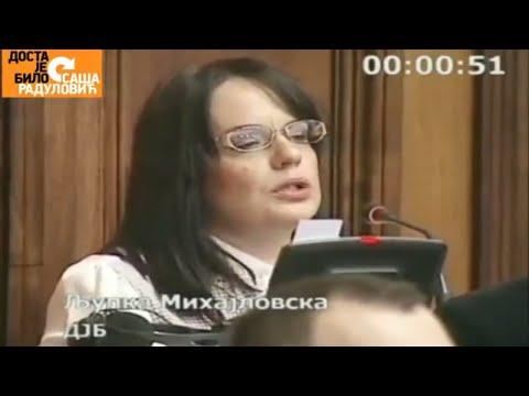 PITANJA ZA: Maju Gojkovic, Nebojsu Stefanovica, Djordjevica, Loncara  (NARODNA SKUPSTINA)
