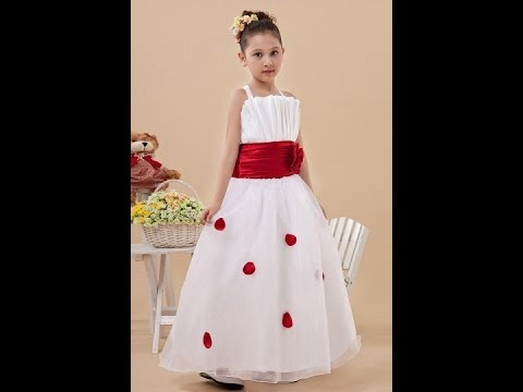 Cute flower girl dresses cheap online shopping chinese How to get cheap designer clothes