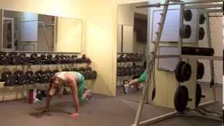 5 Min 5x5 Bodyweight Workout