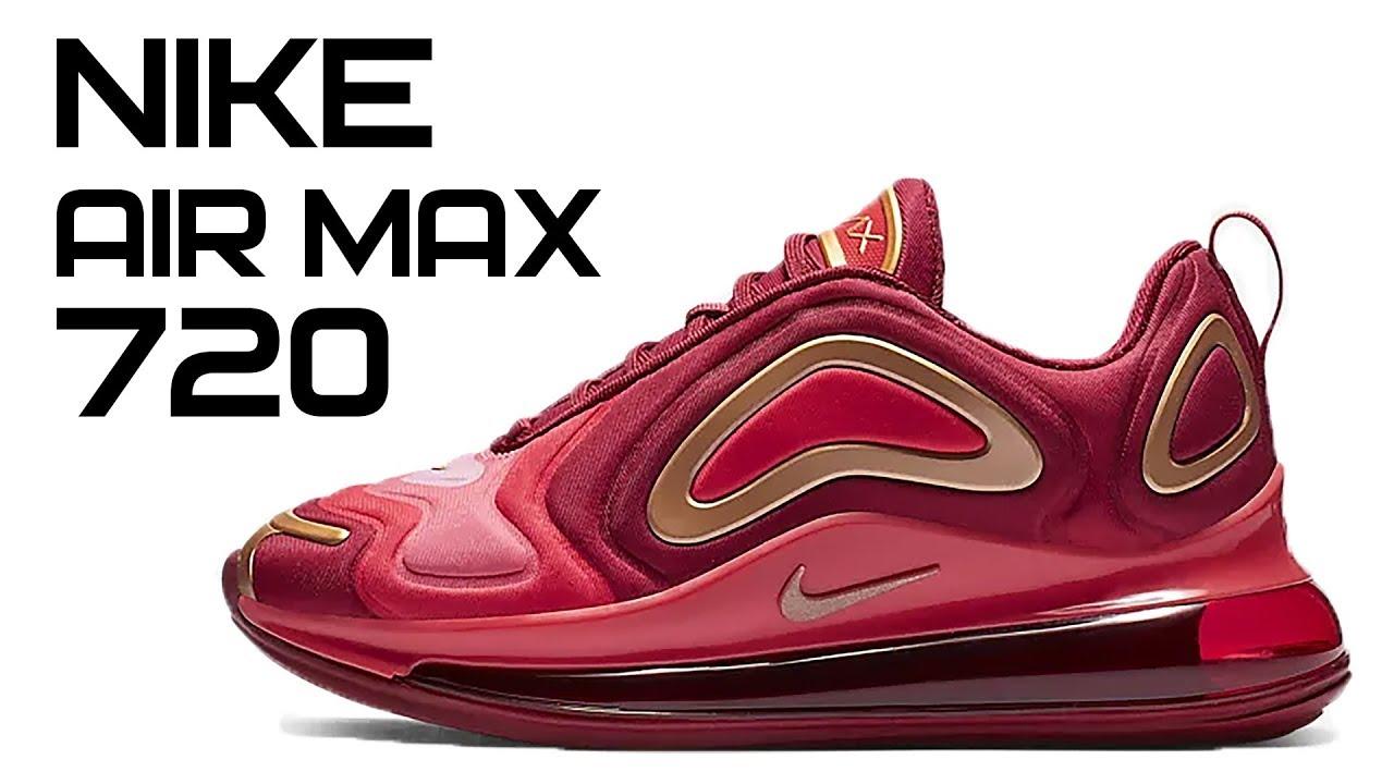 2fbcbd53 Nike Air Max 720 || НОВИНКА 2019 Team Crimson ОБЗОР || AQ3195-600. Обзоры  популярных кроссовок