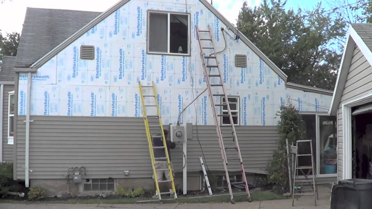 Home Siding Work 2012 Youtube