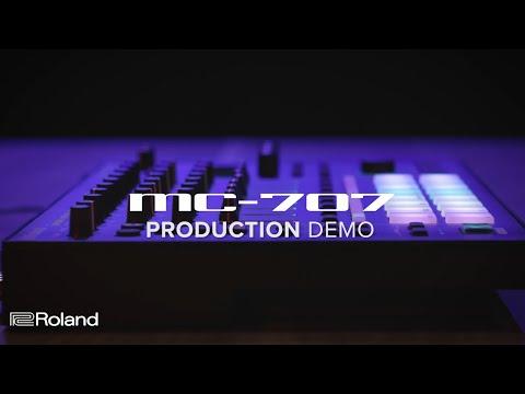 Roland MC-707 GROOVEBOX: Production