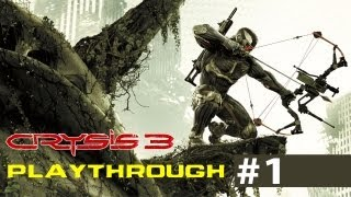 Crysis 3 Playthrough - ESCAPE - Part 1 [PC] [HD]