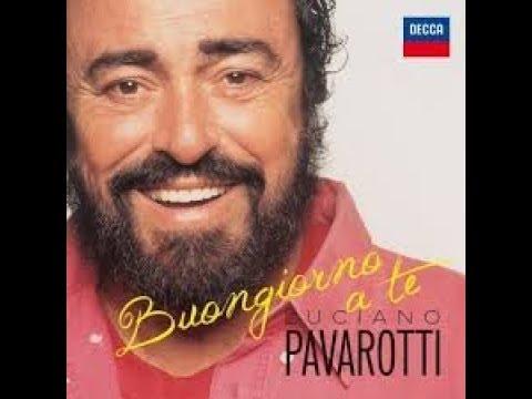 buongiorno a te pavarotti