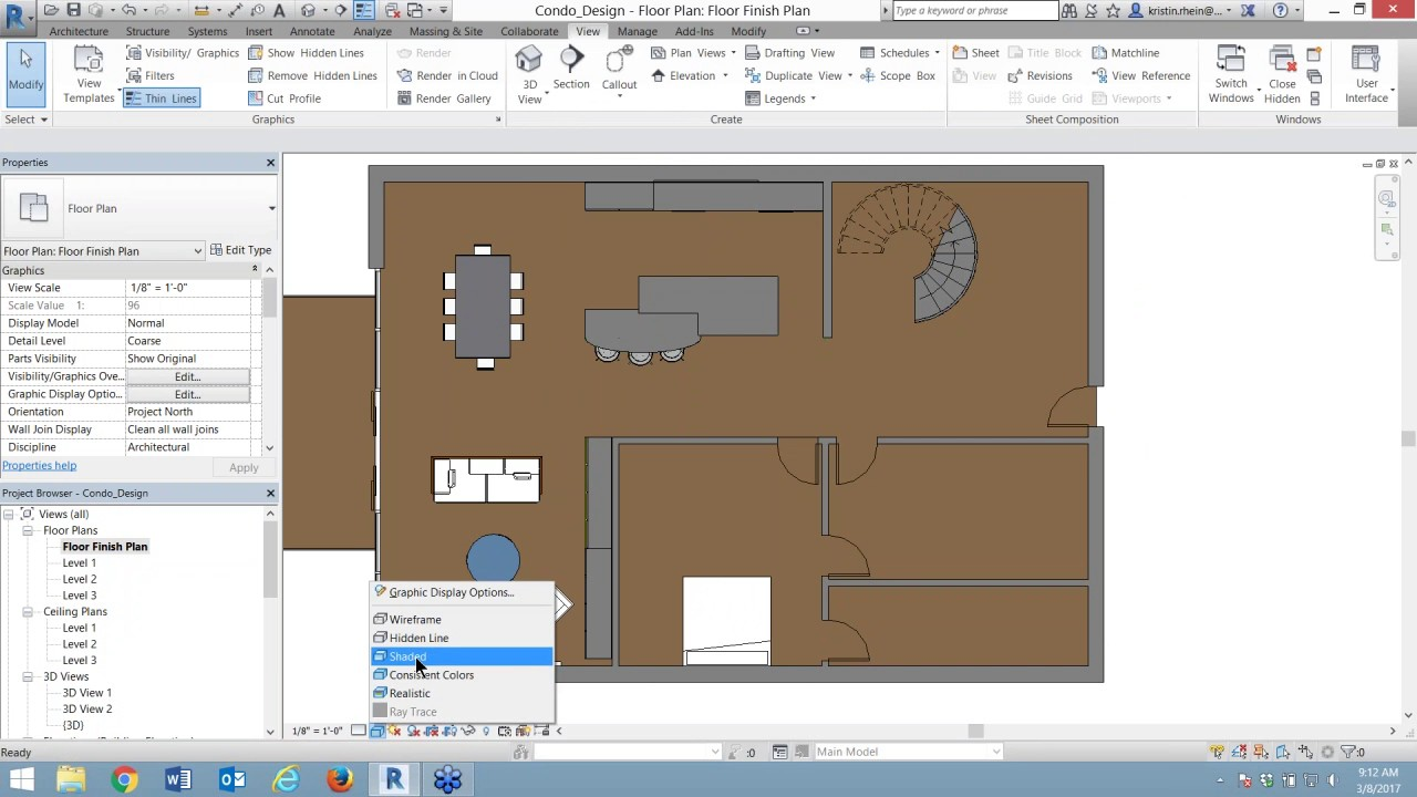 From AutoCAD To Revit: Creating A Floor Finish Plan In Revit