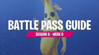 Season 8 Week 9 Battle Pass Challenges with FortniteMaster (Fortnite Battle Royale)