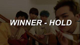 Download lagu [M/V Ver.]  WINNER (위너) - '뜸(Hold)' Easy Lyrics