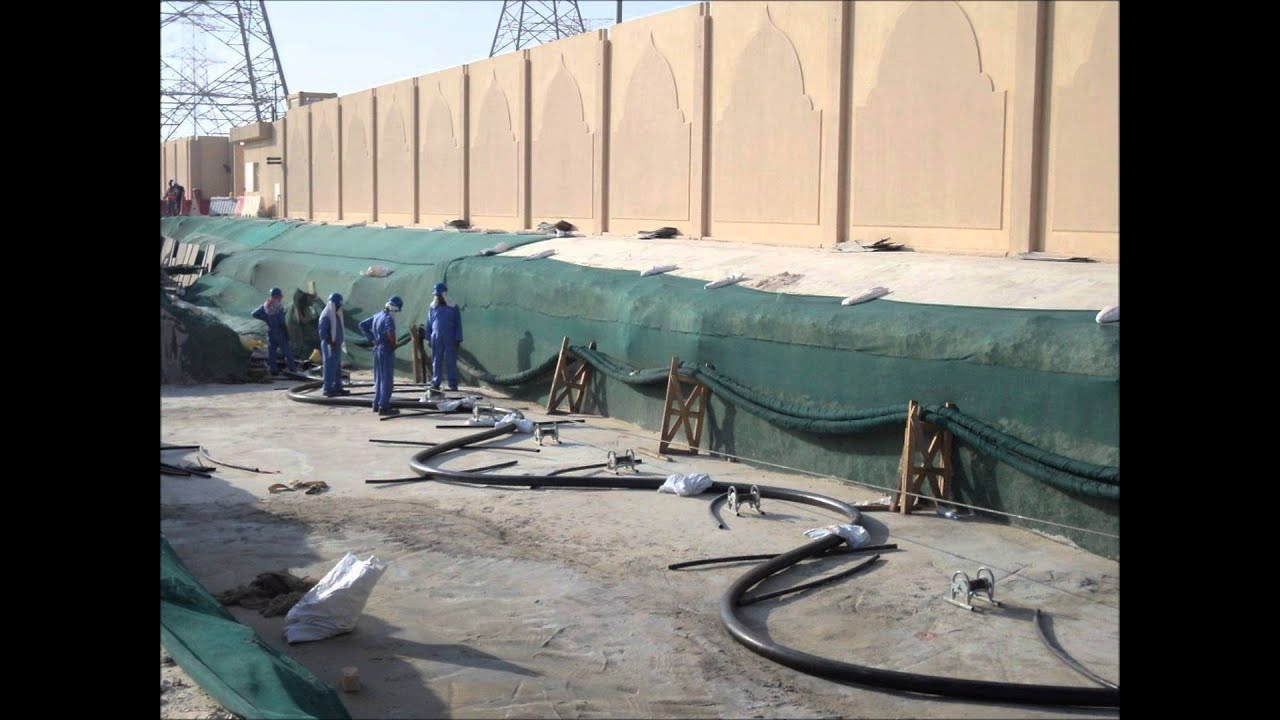 TCC QATAR - 132 Kv & 66 KV Cable Pulling From A to Z wmv