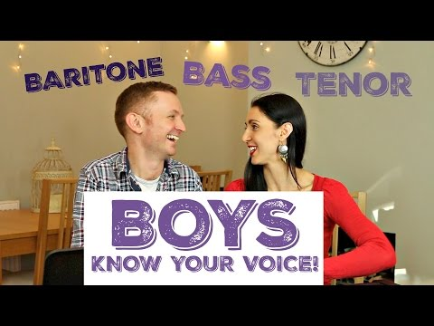 Male Voice Classification: Are you a TENOR, BARITONE, OR BASS?