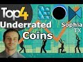 Underrated Crypto Coins | Haven't Broke Top 100 CMC | Modum, Horizon State, Echolink, SophiaTX