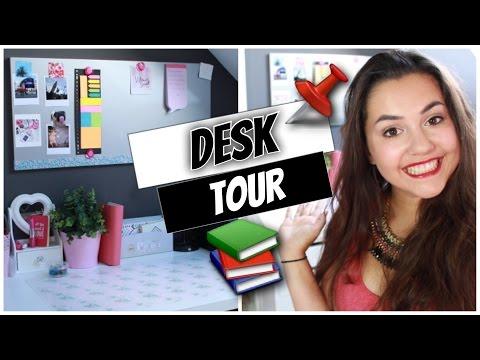 DESK TOUR 〉Comment j'organise mon bureau ✽