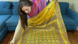 Kantha Stitch Sarees | Embroidery Sarees | Bengal Looms USA