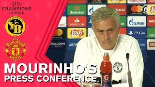 Jose Mourinho Press Conference | BSC Young Boys v Manchester United | UEFA Champions League 2018/19