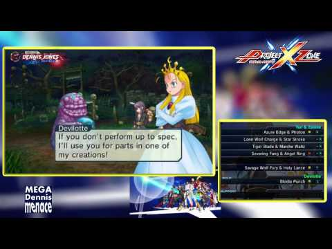Project X Zone Chapter 16 Detestable Golden Sunny Demon 3 of 3 Playthrough Gameplay