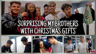 SURPRISING MY BROTHERS WITH CHRISTMAS GIFTS