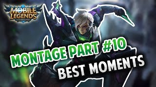 GUSION MONTAGE #10   GUSION BEST MOMENTS   MOBILE LEGENDS BANG BANG