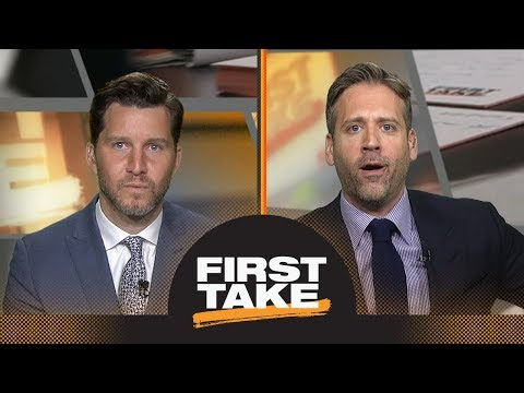 Max and Will Cain have heated debate over LeBron James vs. Celtics   First Take   ESPN