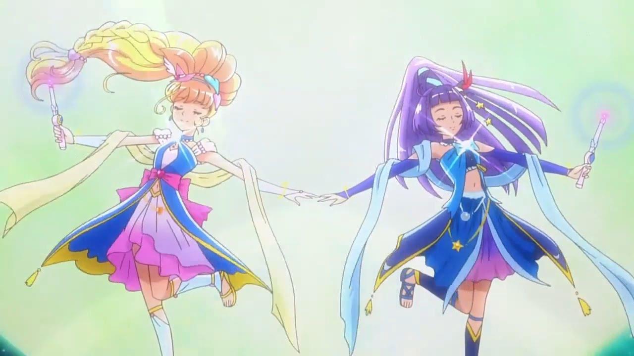 Maho Girls Pretty Cure Attack Precure Sapphire Smartish