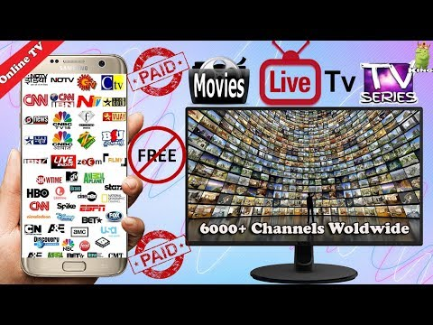 Enjoy 6000 Channels Worldwide  Best PAID live TV app for Android  Movies, TV Series  Hindi