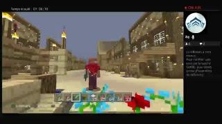 Minecraft  cow-boy  Villel  sure PS4