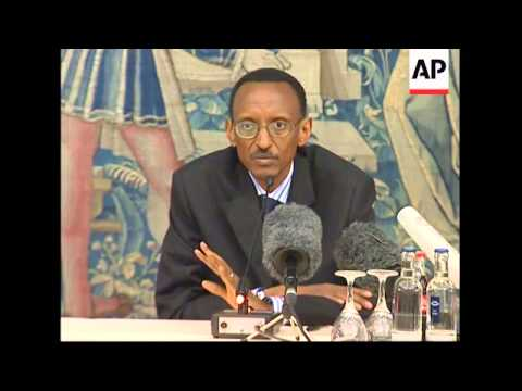 Presser by Rwandan President regarding arrest of his aide in Frankfurt