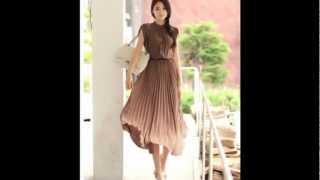 Мода Кореи, Японии - летняя одежда