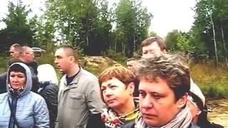 на могиле у Аркадия Кобякова